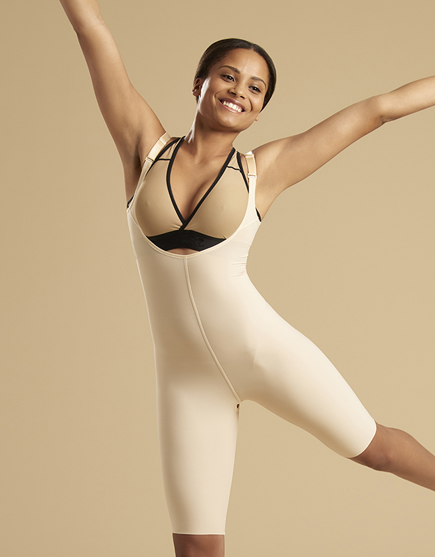 SFBHS2 | Bodysuit with High-Back - Zipperless